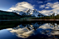Stanley Lake Reflection